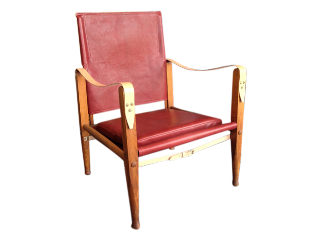 safari stol Safari stol køjesæt   Klassisk Møbelsalg safari stol